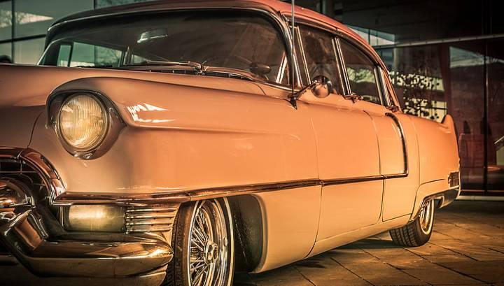 Auto w stylu vintage