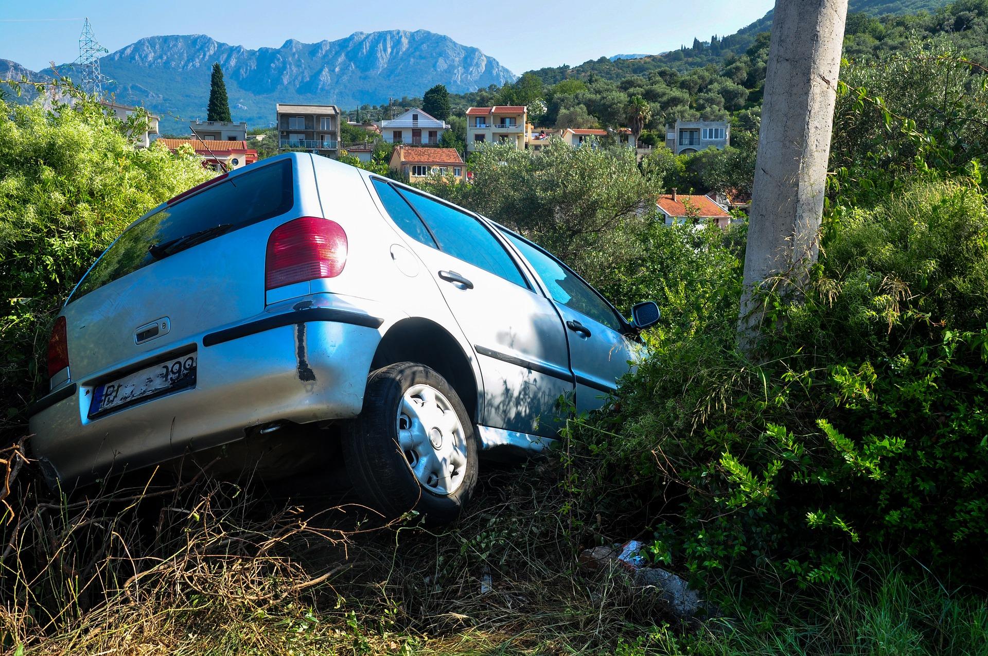 auto wypadek